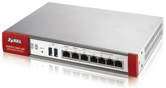 Zyxel USG 200 Unified Security Gateway